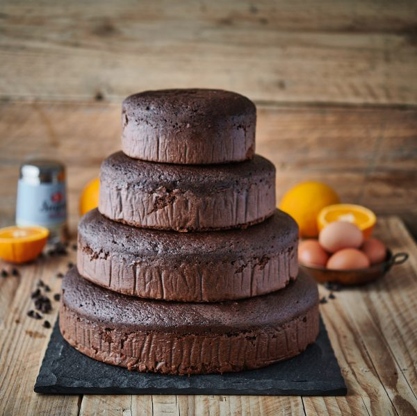 Chocolate Orange Stack