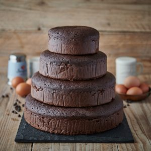 Stack of Chocolate Cakes
